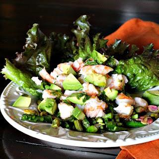 Crab Avocado Asparagus Salad