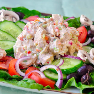 Low Fat Ranch Chicken Salad Recipe