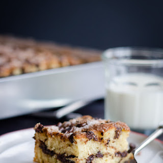Smitten's Chocolate Chip Sour Cream Coffee Cake