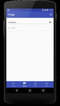Pinger network tool 3.1.6 screenshot 846027