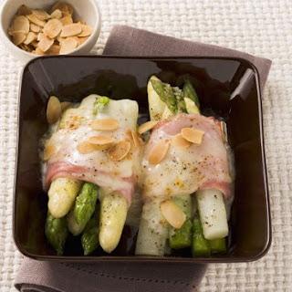 Fresh Asparagus Au Gratin