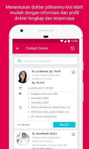 Halodoc - Doctors, Medicines & Lab test  screenshots 5