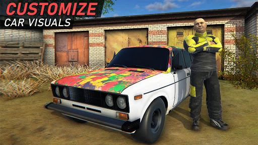 Garage 54 - Car Tuning Simulator apkpoly screenshots 6