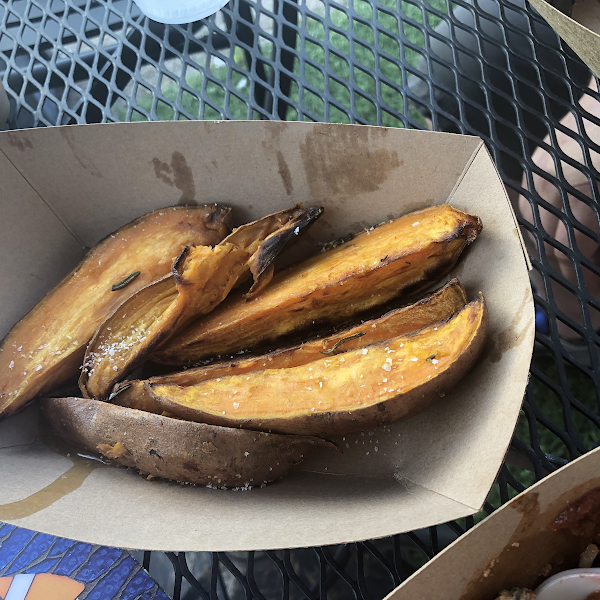 Heart Beet Kitchen-Sweet potato wedges