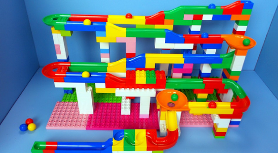Playing Fun Marble Run - náhled