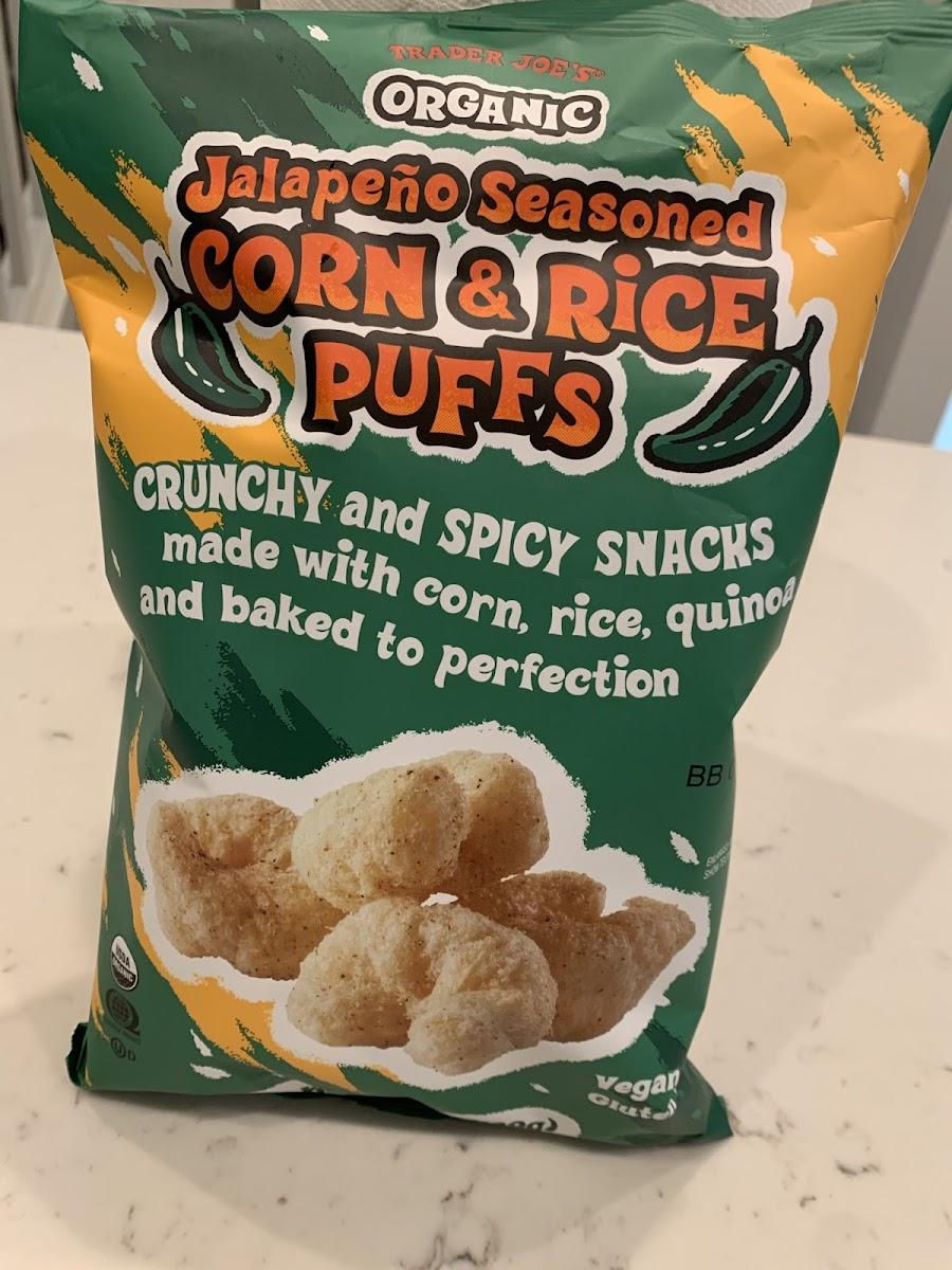 Jalapeno Seasoned Corn & Rice Puffs