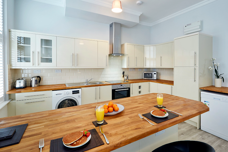 Fully equipped kitchen at Castle View - Windsor