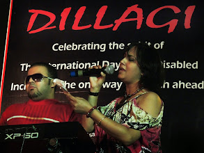 Photo: Ritika's performance at Dillagi Concert as part of World Disability Day Celebration in 2013.