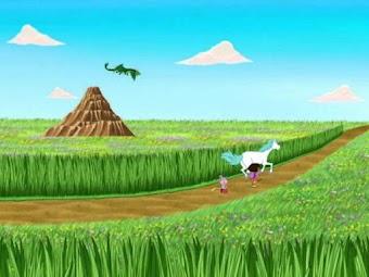 Dora et la forêt enchantée, partie 1 : la légende du roi licorne