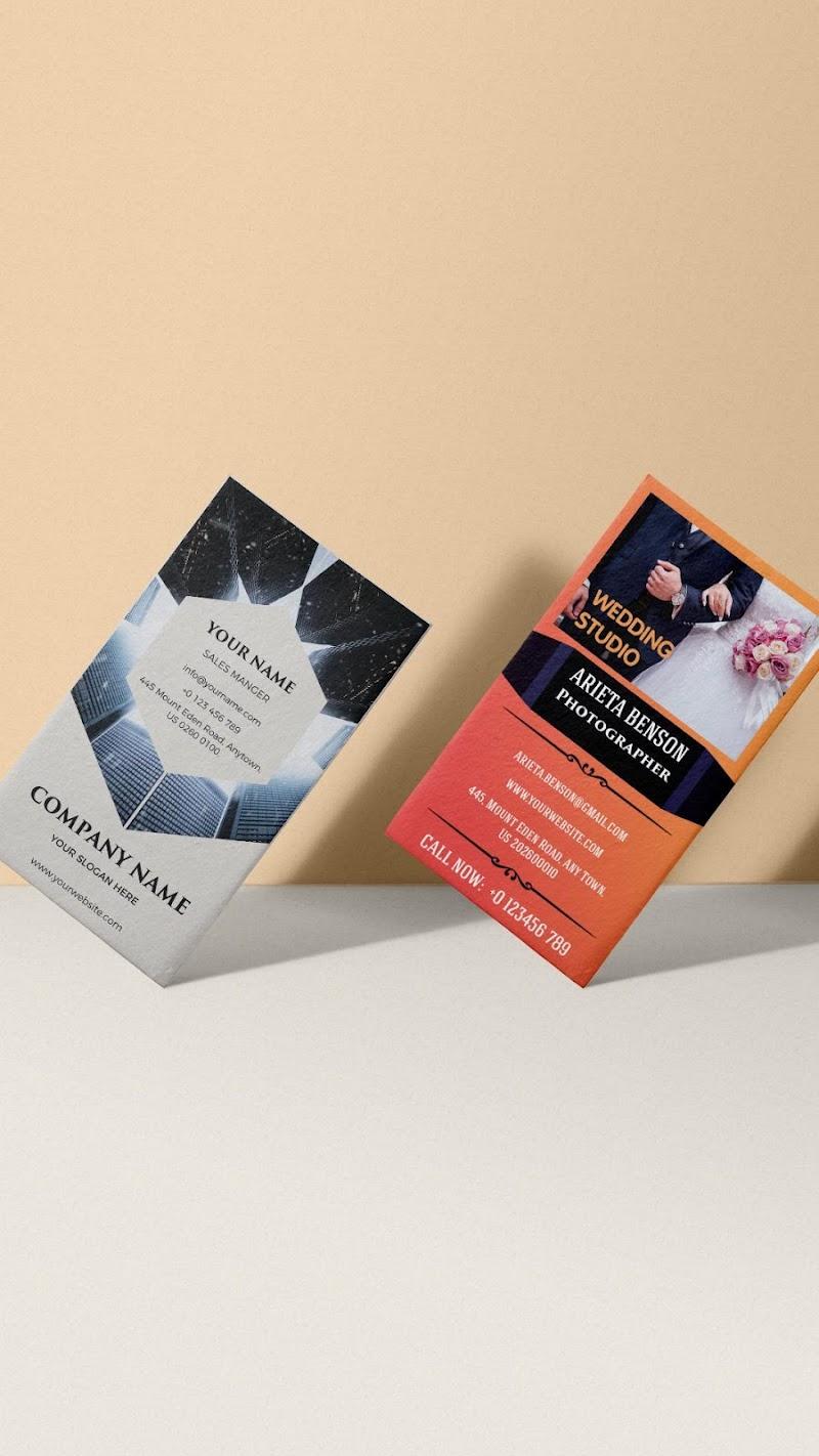 Business Card Maker - Branding Template Editor Screenshot 5