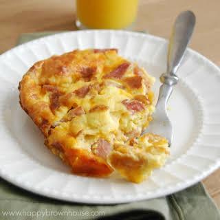 Ham, Egg, and Cheese Breakfast Casserole.