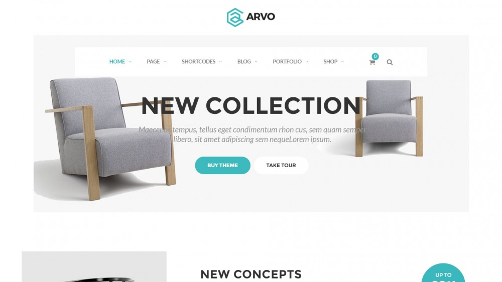 Arvo - Woocommerce furniture themes