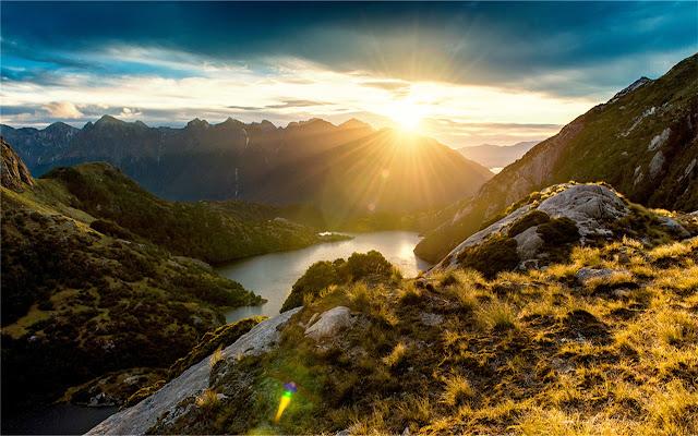 Fiordland National Park Theme & New Tab