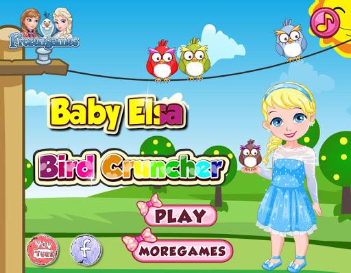 Baby Frozen Bird Cruncher