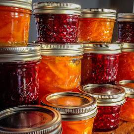Homemade Jam by Wilson Silverthorne - Food & Drink Fruits & Vegetables ( mason jar, jam, jelly, marmalade )