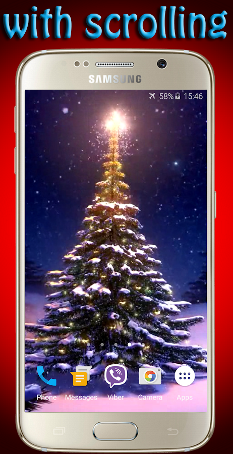 Christmas Tree Live Wallpaper- screenshot