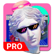 Vaporwave Wallpapers PRO ???? (NO ADS) icon