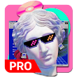 Vaporwave Wallpapers PRO 🌴 (NO ADS) icon