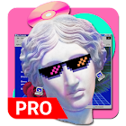 Vaporwave Wallpapers PRO  (NO ADS) icon