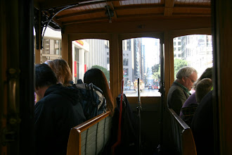 Photo: We had a day pass from Muni (San Francisco Municipal Railway), that was good for the cable cars, busses, and street cars. The kids rode free.