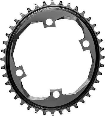 Absolute Black SRAM Apex 1 Chainring- 110 SRAM Asymmetric BCD,  Narrow-Wide alternate image 1