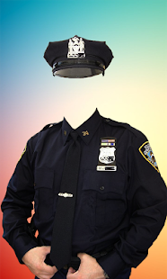 Police Suits Photo Editor - náhled