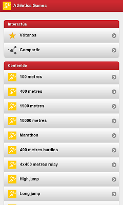 Athletics Games - screenshot