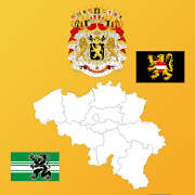 Belgium State Maps,Flags,Info