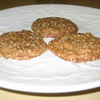 Healthy Steel-cut Oatmeal Cookies