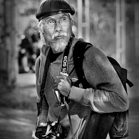 The Photographer by Herry Wibowo - People Portraits of Men