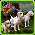 Super filhote de cachorro 3D icon