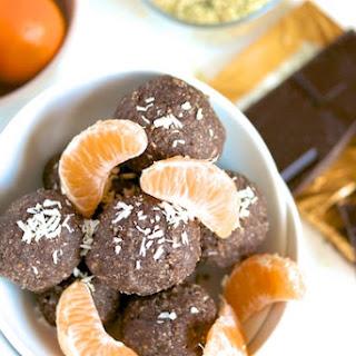 Raw Chocolate-Orange Hemp Bites