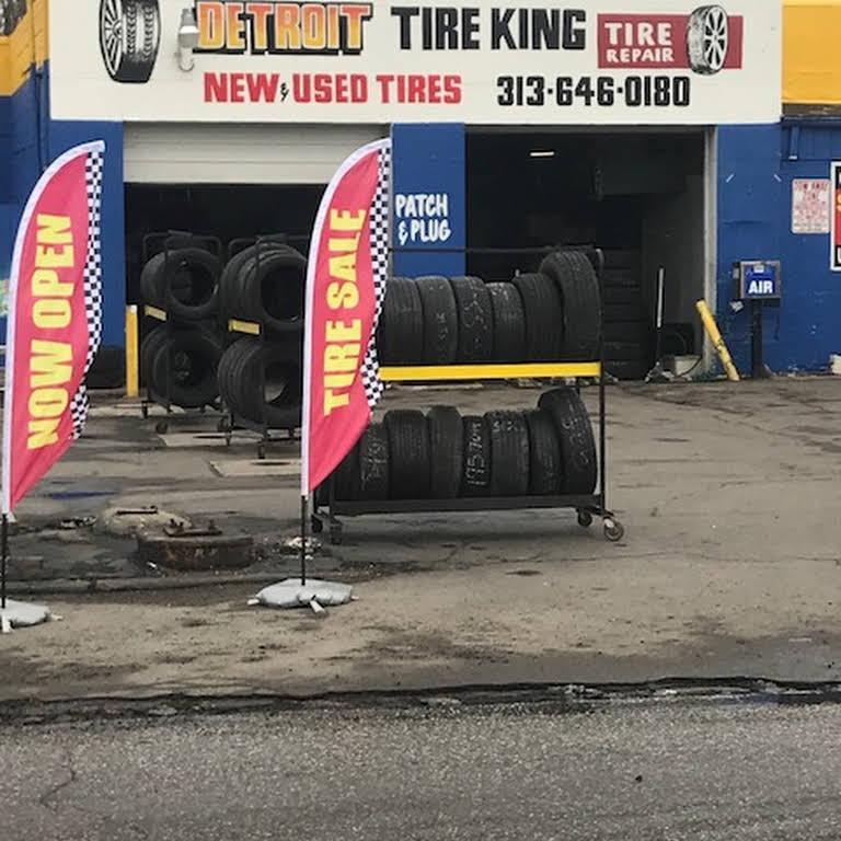 Detroit Tire King Tire Shop In Detroit