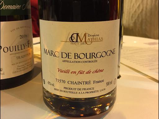 Marc de bourgogne Mathias