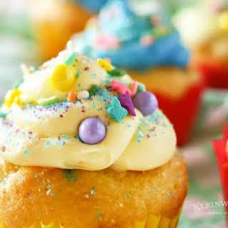 Funfetti® Easter Cupcakes.