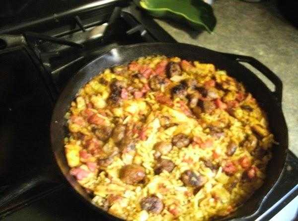 Chicken/sausage Orleans Recipe