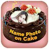 Name Photo On Cake