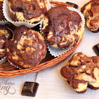 Chocolate Cream Cheese Muffins