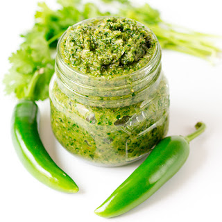 Skinny Thai Green Curry Paste