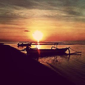 by Yudya Daton - Instagram & Mobile Instagram ( path, sunsetbig, bali, likes, lovina, beach, singaraja, cool, traveler, holiday, dreams )