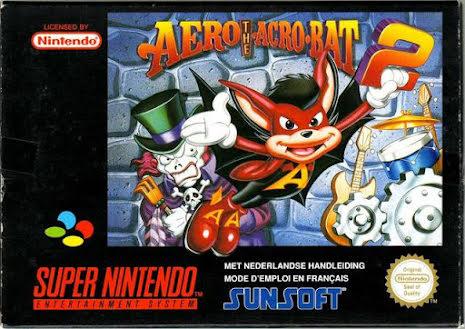 Aero the Acro-Bat 2