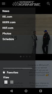 Kasey Kahne Official App- screenshot thumbnail