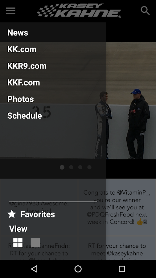 Kasey Kahne Official App- screenshot