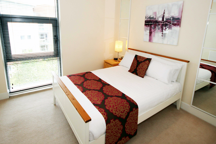 Luxury bedroom at Lime Square PU