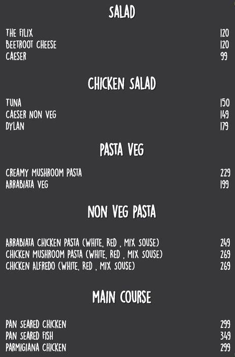 All Time Cafe menu 8