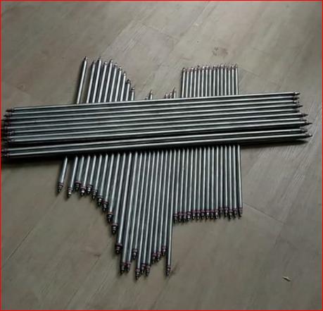 Điện trở gia nhiệt 2 đầu phi 12 dài 500mm điện 220v 1200w