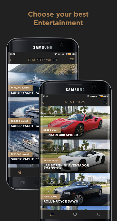 ALLUXE | Luxury Rental- screenshot