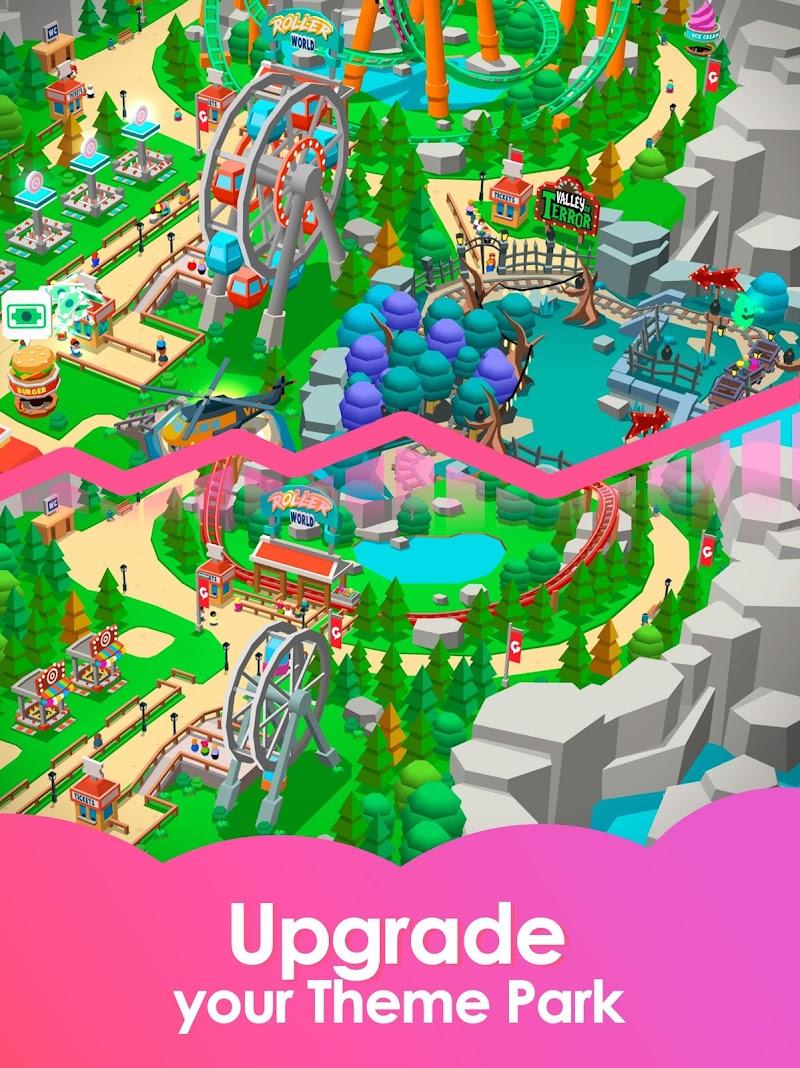 Idle Theme Park Tycoon - Recreation Game Screenshot 13