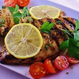 Oregano-Lemon Chicken.
