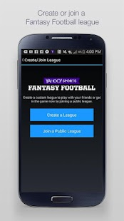Yahoo Fantasy Sports Screenshot 2